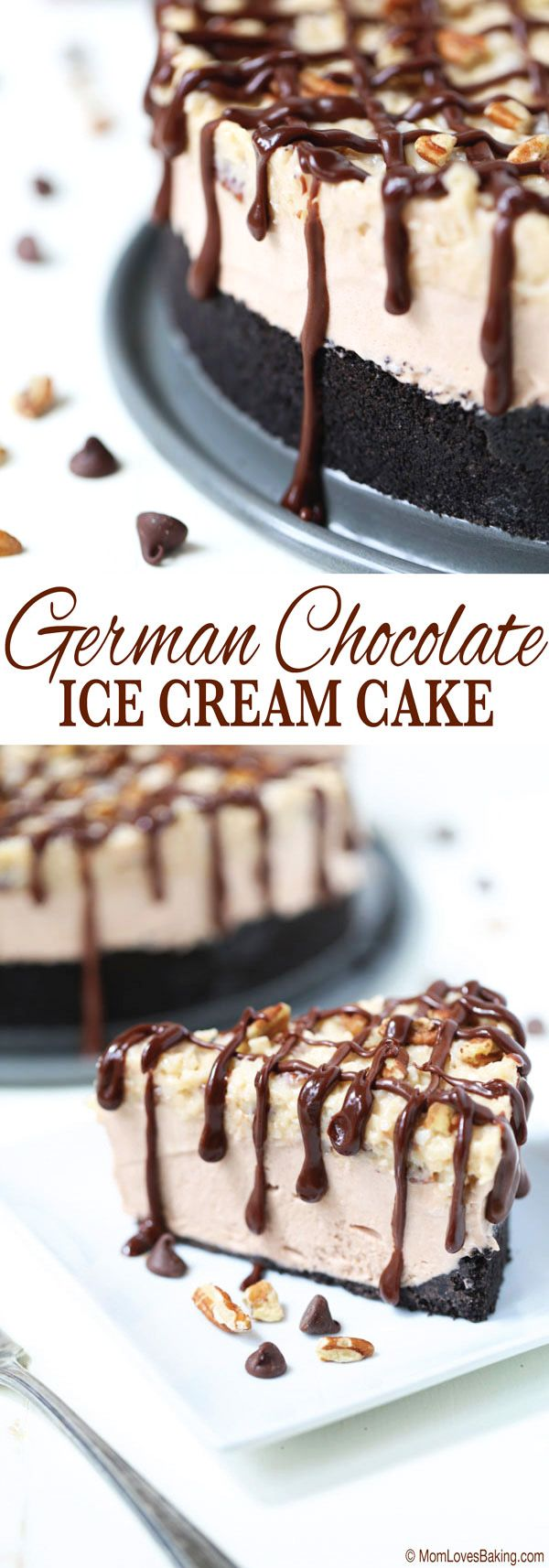 It is super hot outside and the perfect time to make this German Chocolate Ice Cream Pie. Find the recipe on http://momlovesbaking.com /search/?q=%23CuriousCreamery&rs=hashtag /search/?q=%23ad&rs=hashtag @Walmart @CuriousCreamery