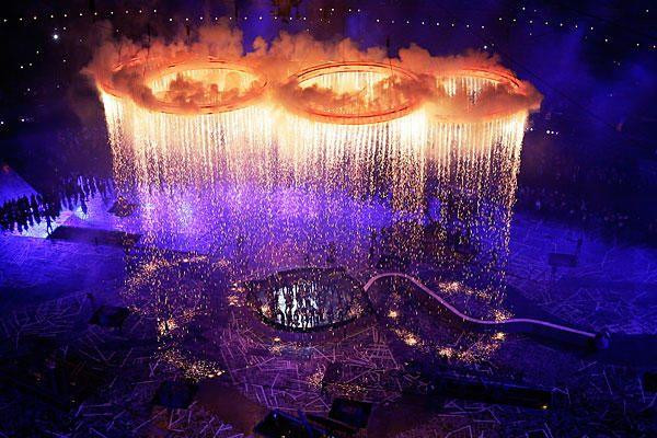 images of london 2012 opening ceremony -