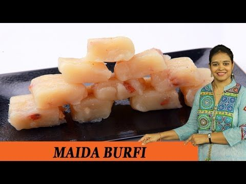 MAIDA BURFI - Mrs Vahchef - YouTube