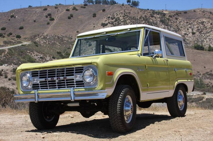 Hemmings Motor News — Refurbished 1974 Ford Bronco for sale on...