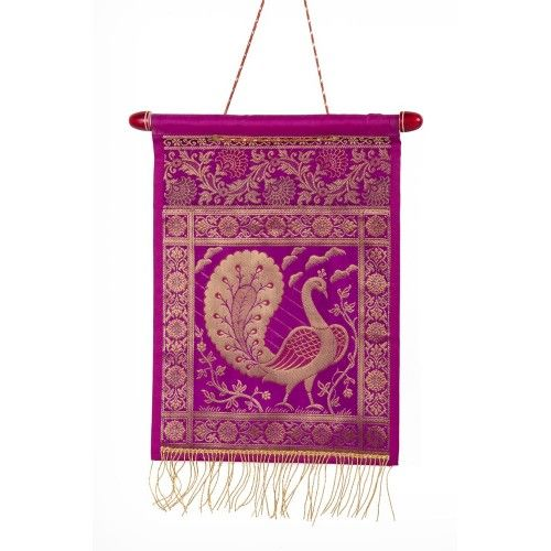 Bring in the luxury of kings.  We bring you the best quality magazine holders accross the world. Check out the latest colorful magazine holders only@ trendztree.com. These wall magazine holders bring out the charm on your walls. With such multi color designs,  you get a tremendous variety to decorate in your house. Wall hangings combine with the craftsmanship of Varanasi,  make it even more beautiful. The Fuchsia magazine holder make your house a place of luxury and style.