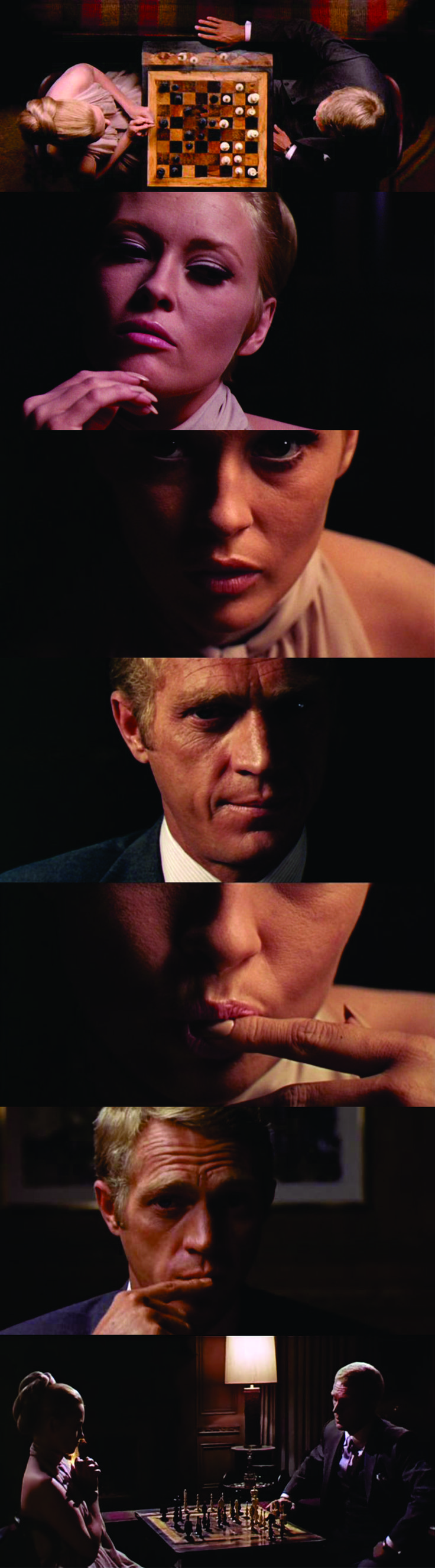 The Thomas Crown Affair (1968). The soundtrack for this movie is unbelievable.