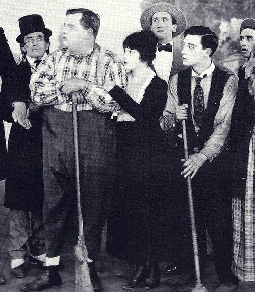 Image result for backstage 1918 roscoe arbuckle