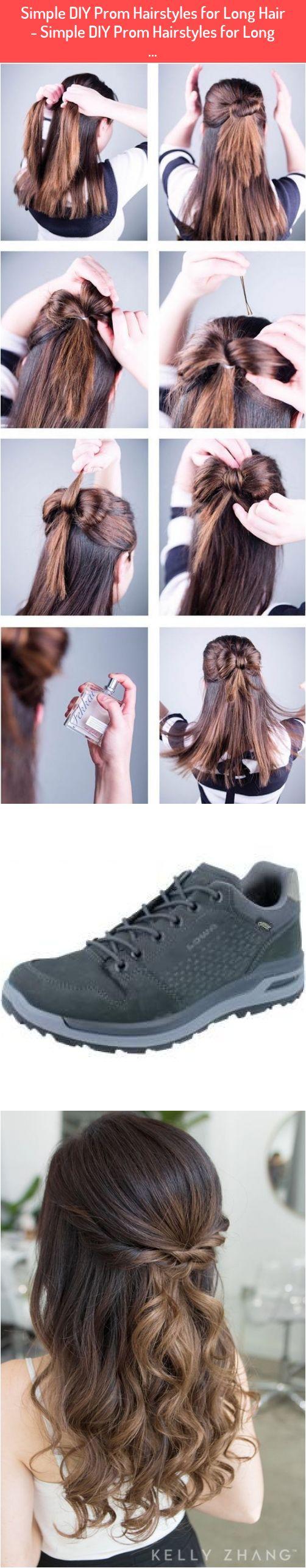 Simple DIY Prom Hairstyles for Long Hair - Simple DIY Prom ...
