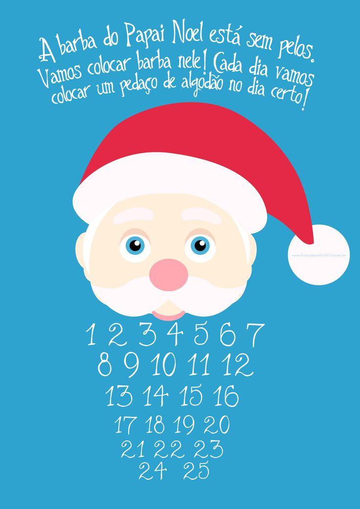 Contagem Regressiva para Natal Azul                                                                                                                                                                                 Mais