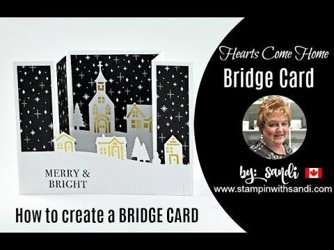 How to Create a Bridge Card -