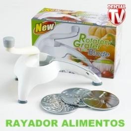 Picadora manual de alimentos utensilio de cocina para picar cortar rayar facil y rapido - Picadora alimentos ...