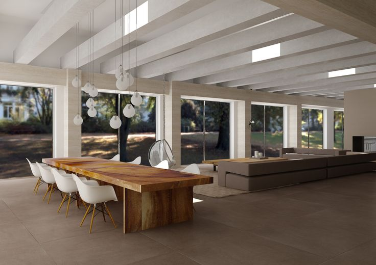 Yellowstone flat, dining room, virtual image, rendered with DomuS3D® and mental ray