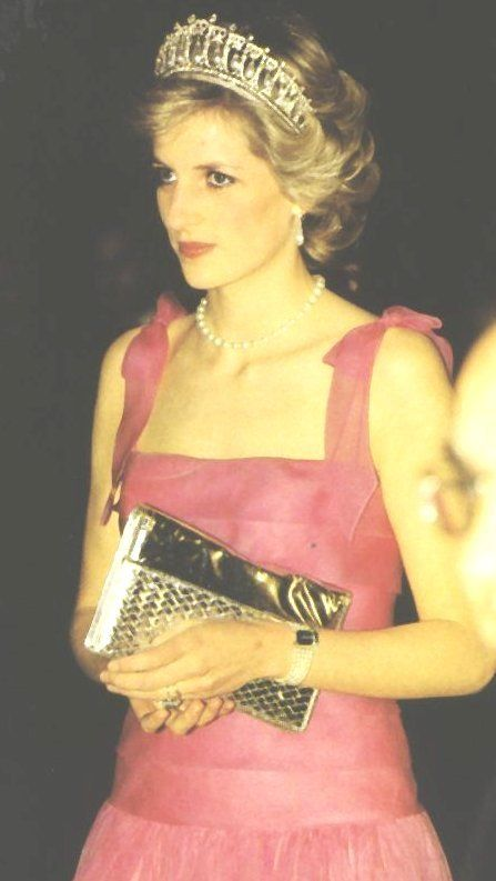 .April 20 1985 Diana, Princess of Wales, visit La Scala Opera House, Milan, Italy.