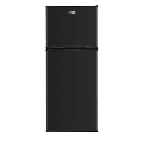 Frigidaire FFTR1022Q 24 Inch Wide 10.0 Cu. Ft. Top Freezer Apartment Size Refrigerator with Store-More Door Bins (