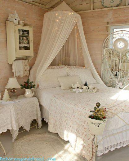 awesome Nostaljik ve Romantik Yatak Odaları 2016