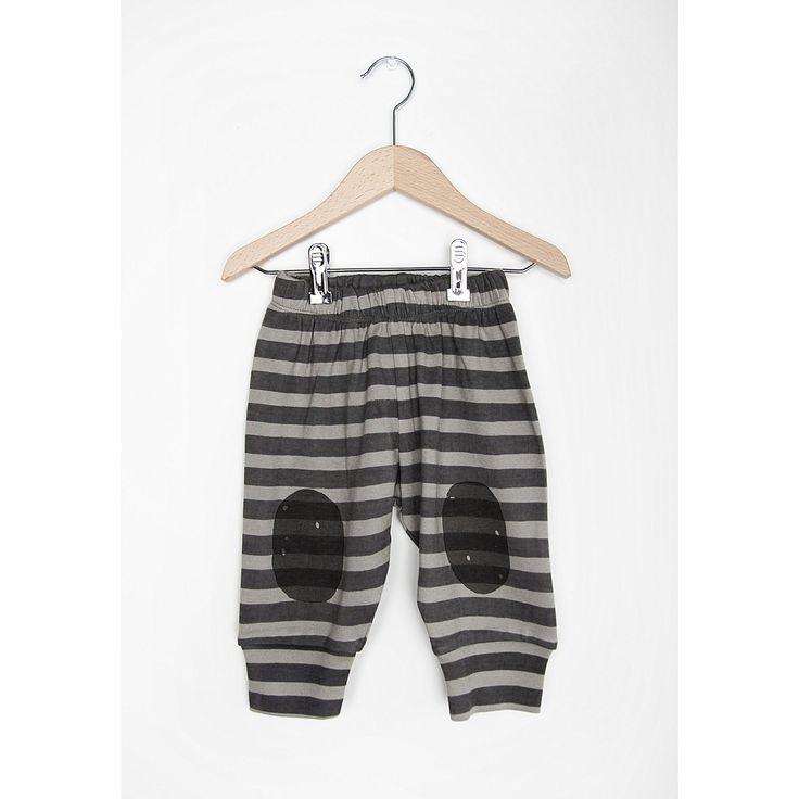Παντελόνι nadadelazos από οργανικό βαμβάκι -Grey Stripes