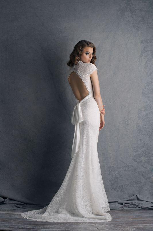 Wedding dress by Cymbeline.