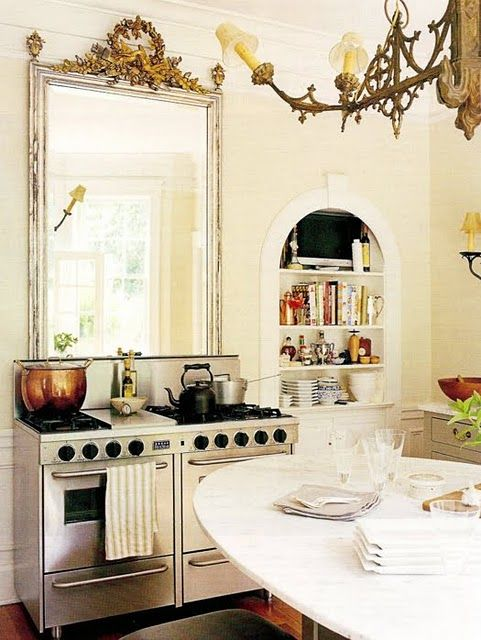 Classic Feng Shui Cure Is To Add A Mirror Behind Your Stove. It Doubles The