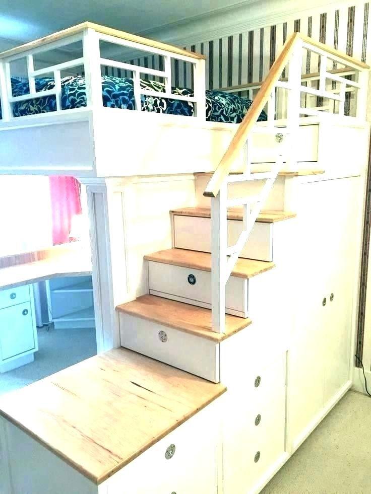 Bunk Beds With Desks Jobalert2019 In 2020 Bed With Desk Underneath Loft Bed Queen Bunk Beds