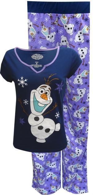 Disneys Frozen Olaf Cotton Pajama