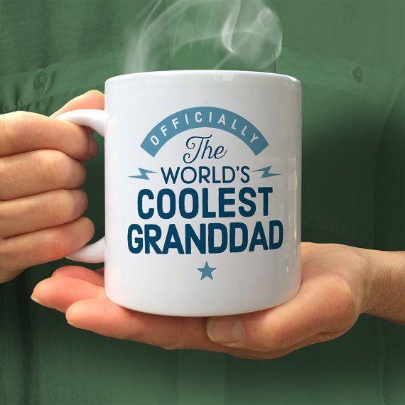 Grandad Gift Cool Grandad Grandad Mug Birthday Gift by MainlyMugs