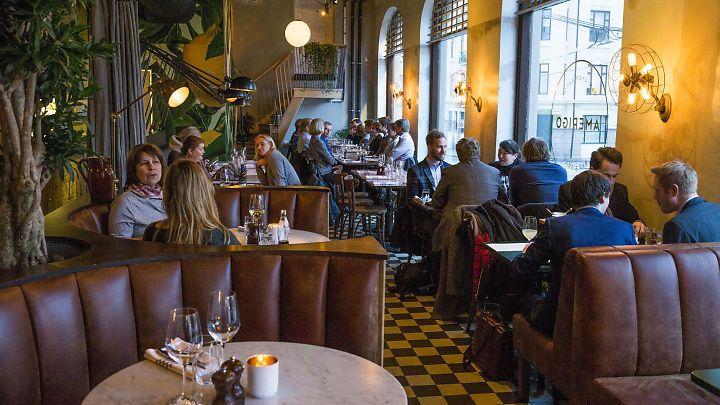 Restaurantanmeldelse av Amerigo: Holder ikke mål