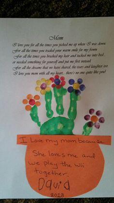 Mother's Day preschool activity