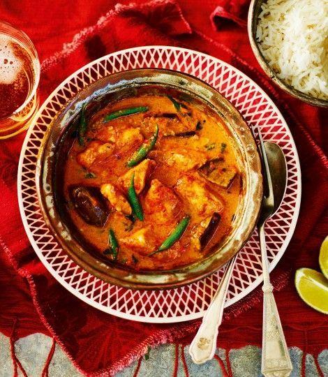 Tailandia y rojo de curry