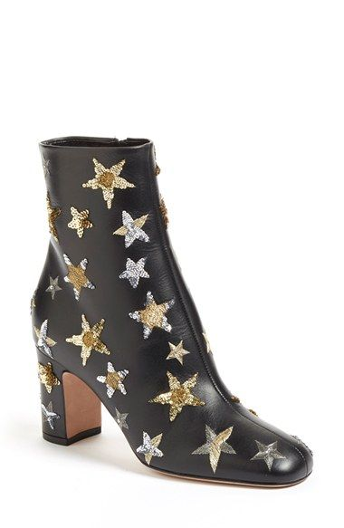 Valentino 'Star Studded' Bootie (Women) available at #Nordstrom