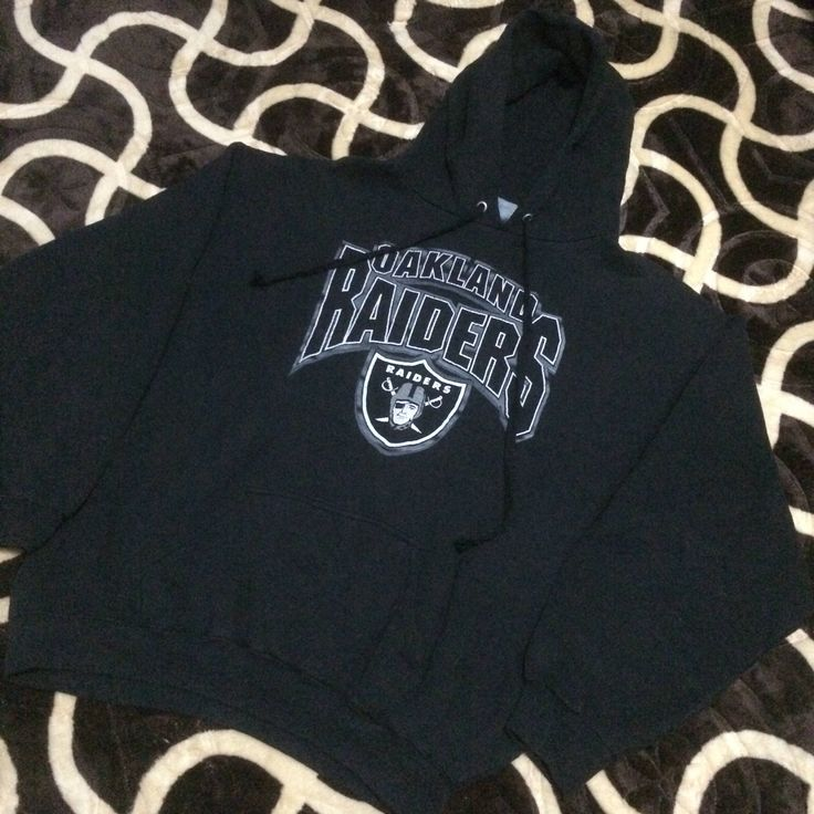 A personal favourite from my Etsy shop https://www.etsy.com/listing/531564204/vintage-oakland-raiders-hoodie-by-logo-7