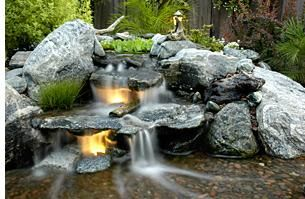 15 best images about waterfalls on pinterest backyard for Garden waterfalls do it yourself