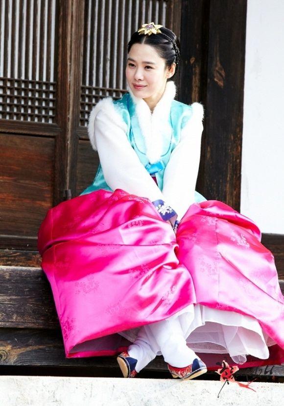 Korean drama [Cruel Palace - War of Flowers] = 소용조씨[Lady Jo Gwi-in] - 김현주(Kim Hyun-joo)