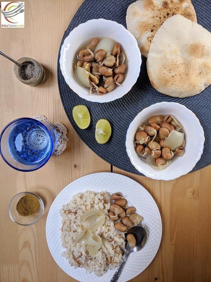 فول نابت علي الطريقة المصرية Food Oatmeal Breakfast