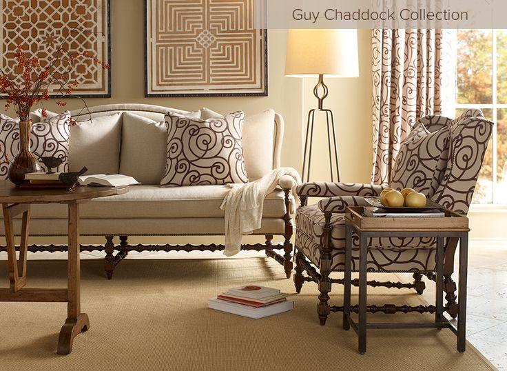 Traditional Elegant Living Furniture