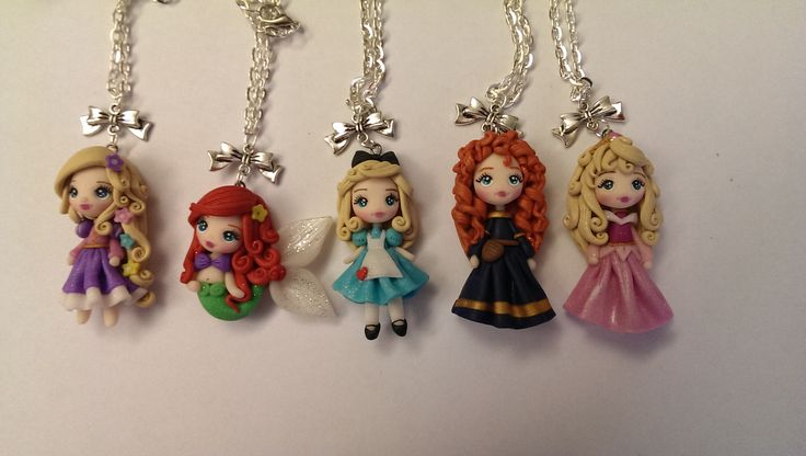Principesse Disney in fimo