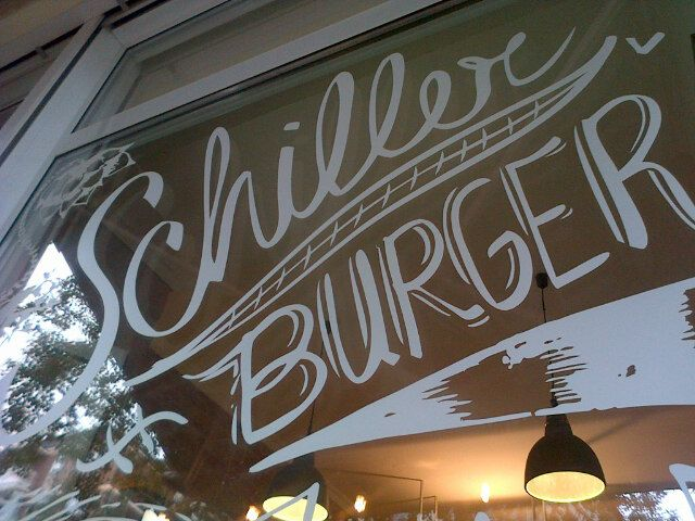 Schiller Burger #vegfriendly