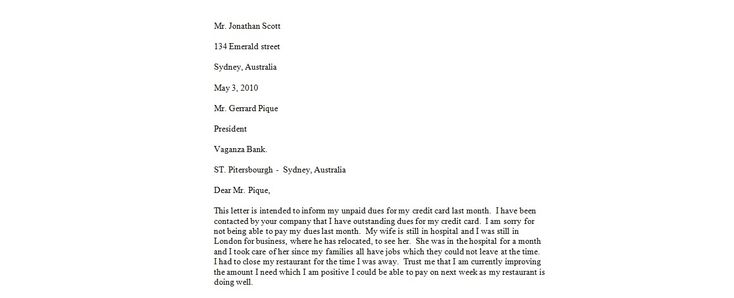 Financial Hardship Letter - 35 Simple Hardship Letters (Financial