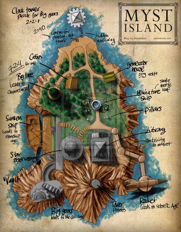 Jungle Island Map Riven