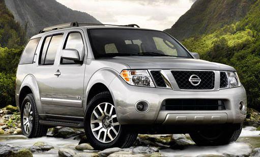 2010 Nissan Pathfinder SE  Price $30,890 MSRP Engine 4.0L 266 hp V6 Seating 7 MPG 15 city 22 highway Drivetrain 4X2 Body Style SUV