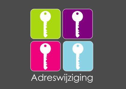 Frisse sleutel  verhuiskaarten - Verhuiskaarten - Kaartje2go