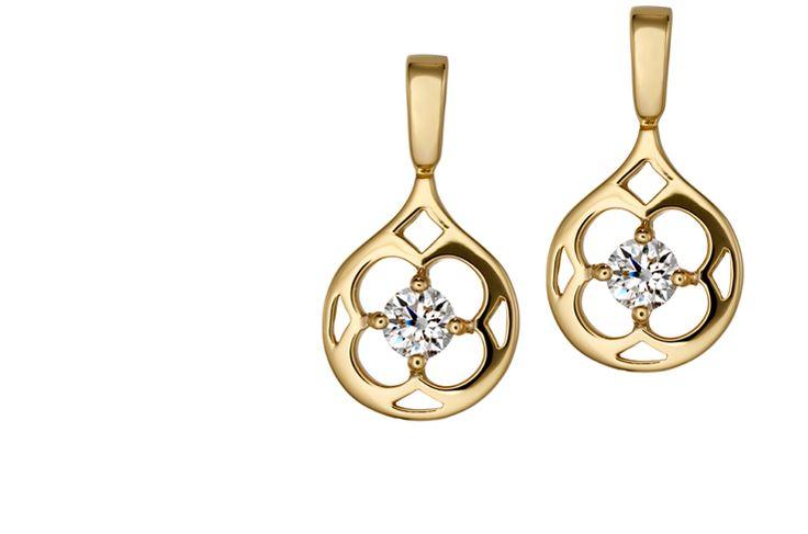 Copley Single Diamond Drop Earrings #myHOFwishlist,