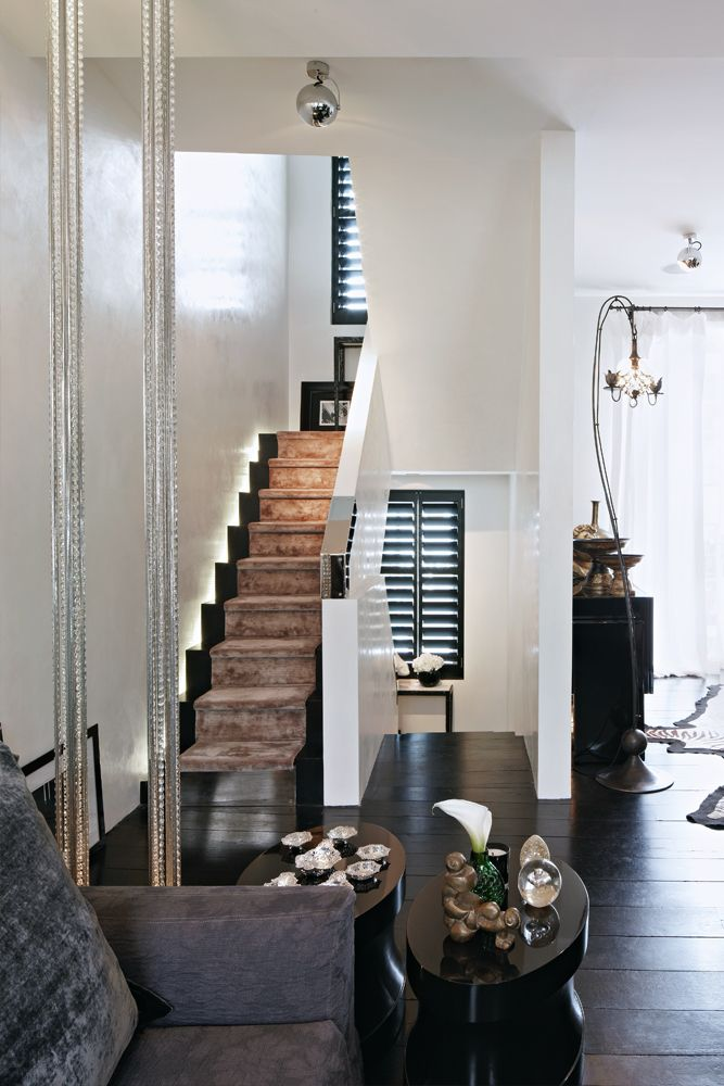 KELLY HOPPEN stairs and runner
