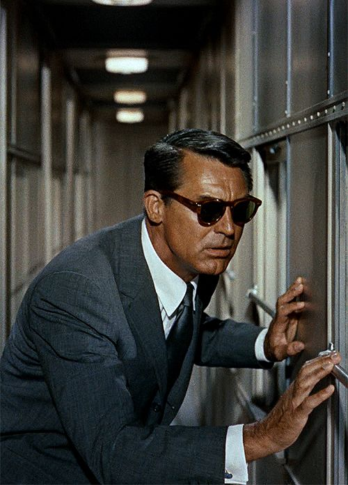 North by Northwest (1959) by Alfred Hitchcock with Cary Grant, Eva Marie Saint, James Mason...