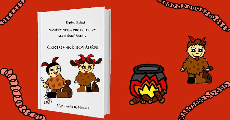 E-book ZDARMA - pracovní listy pro děti předškolního věku - čertíci.