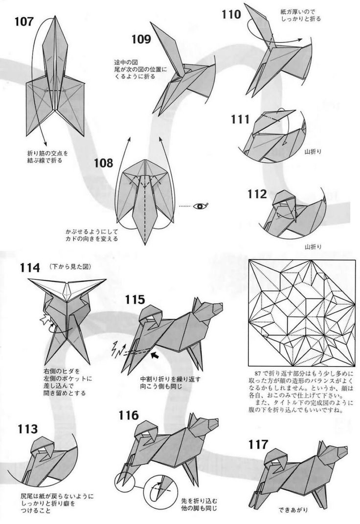 482 best origami images on pinterest origami paper crafts and dog 10 pooptronica
