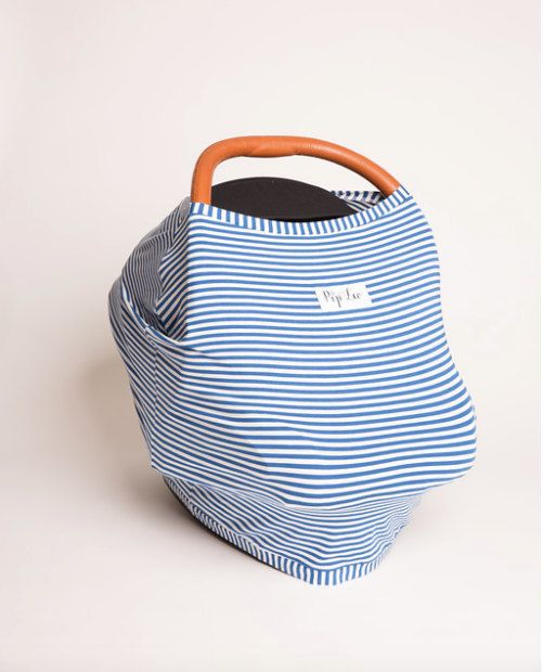 Broadway Blue Stripe *Organic Cotton by PipandLeoBaby on Etsy