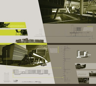 Abstractions of delusions: Some architectural presentations (click on them to enlarge)