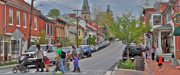 Shepherdstown, West Virginia home of Shepherd University
