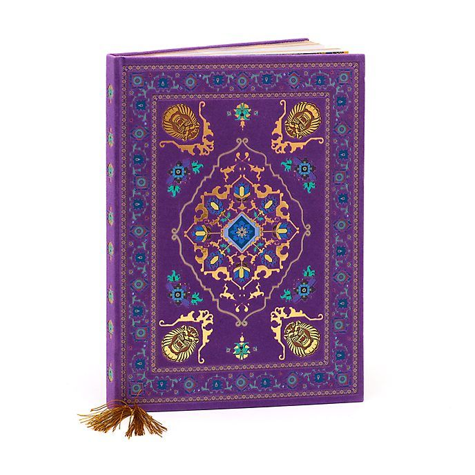 Disney Store Carnet Tapis Volant Aladdin