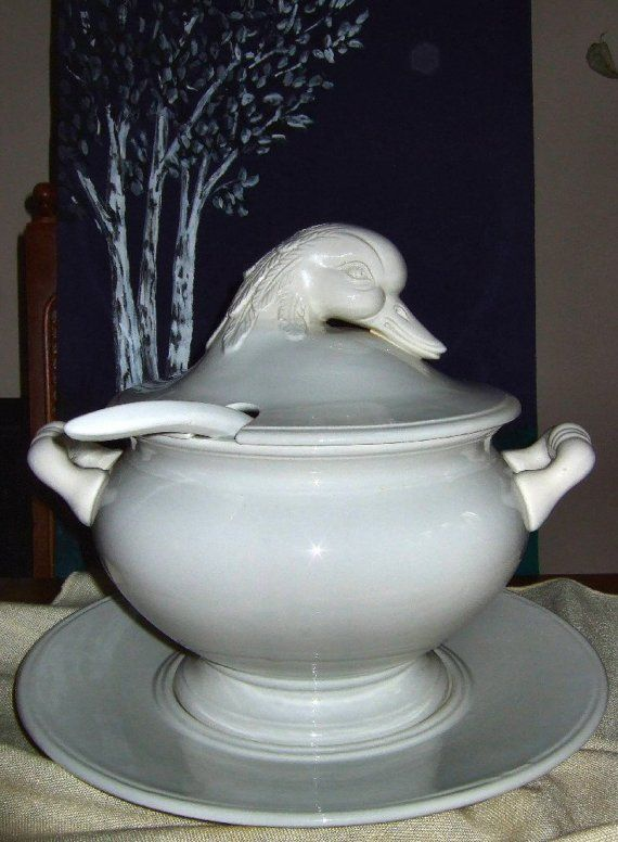 Vintage Duck Soup Tureen