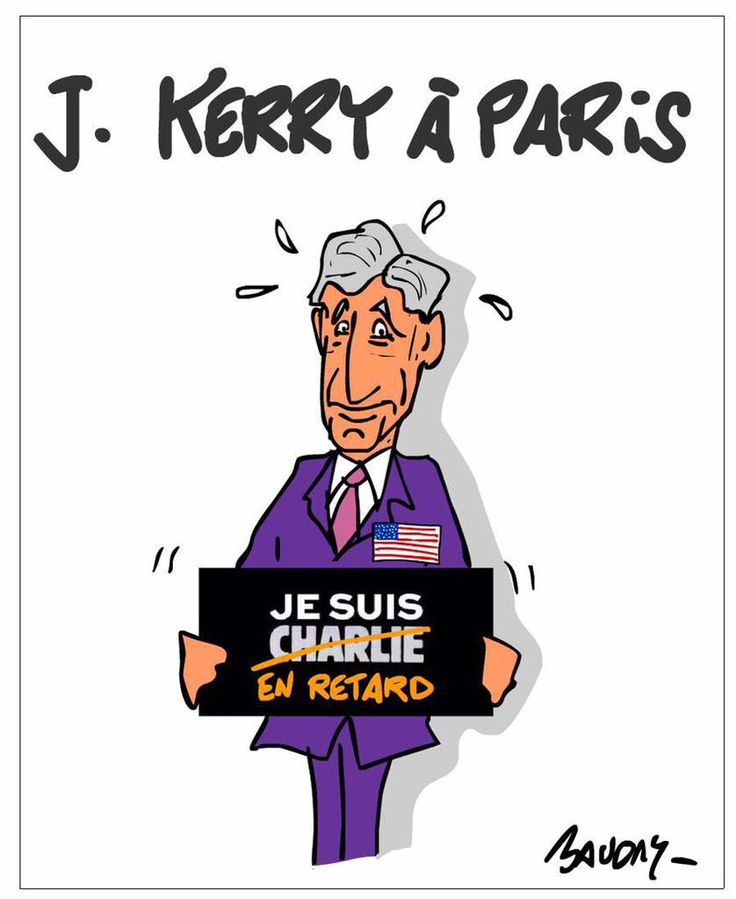 John Kerry est Charlie ... Mais en retard. #LateCharlie #JeSuisCharlie via @hervebaudry