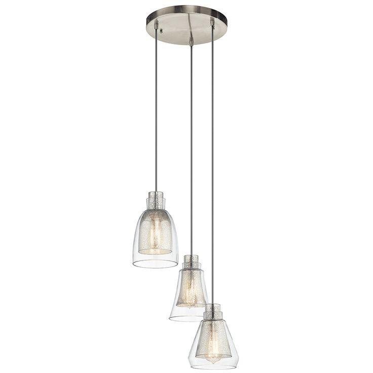 Multiple Pendant Lighting Fixtures Evie 3 Light Pendant Multiple Lighting Fixtures O