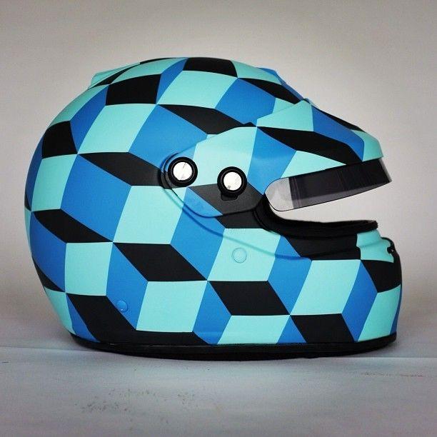 Arai helmet with peak www.motard-chic.com