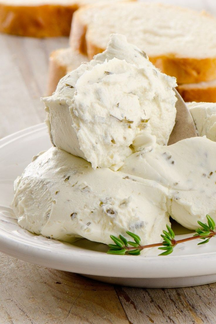 Boursin Cheese Copycat Recipe - Garlic, butter, creamed cheese, freshly grated parmesan cheese mixed with herbs